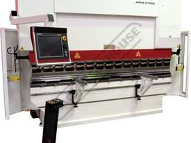 APHS-C 31090 Hydraulic CNC Pressbrake 90T, 4 Axis, Delem DA66T Touch Screen Control Includes Program - picture2' - Click to enlarge