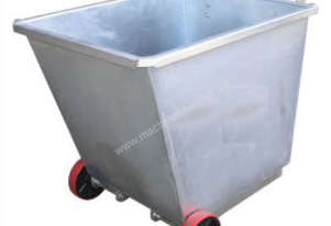 ight Weight Forklift Skip Bin 0.5m2 with Wheels