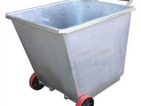 ight Weight Forklift Skip Bin 0.5m2 with Wheels - picture1' - Click to enlarge