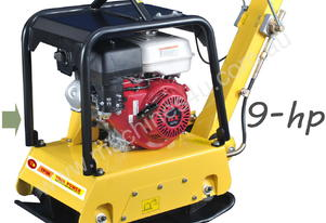 Compactor plate reversible, 9-hp, Extreme Series++