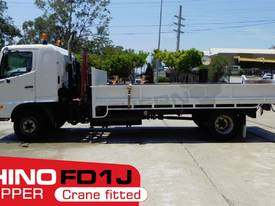 Tipper Truck FD1J with crane, only 140,000Kms - picture0' - Click to enlarge