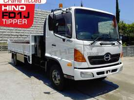 Tipper Truck FD1J with crane, only 140,000Kms - picture1' - Click to enlarge