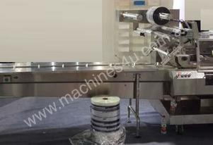 Horizontal Flow Wrapper (Electronic, Rotary Jaw) -