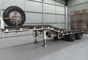 1990 Workmate Drop Deck Trailer