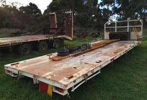 None FLAT BED STEEL TRAY