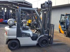 Nissan PL02 Forklift 2.5 Tonne 4000mm Lift Height  - picture0' - Click to enlarge