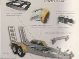 Sureweld Tag Tag/Plant(with ramps) Trailer - picture3' - Click to enlarge