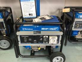 WESTINGHOUSE Portable Generator - picture0' - Click to enlarge
