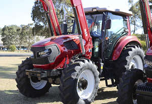 Alfa CM135 Tractor and Front End Loader 3 year full warranty.