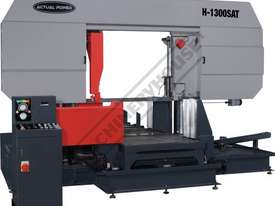 H-1300SAT Semi Automatic Double Column Heavy Duty Metal Cutting Band Saw 1300 x 1300mm (W x H) Squar - picture0' - Click to enlarge