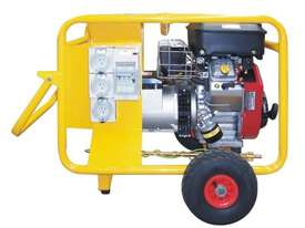 Crommelins 10kVA Generator Worksite Approved Petrol - picture0' - Click to enlarge