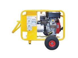 Crommelins 10kVA Generator Worksite Approved Petrol - picture1' - Click to enlarge