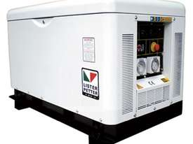 Lister Petter 10kVA Single Phase Diesel Generator - picture0' - Click to enlarge
