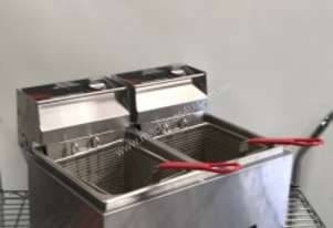 EX-DEMO Woodson Double Basket 8LT Deep Fryer