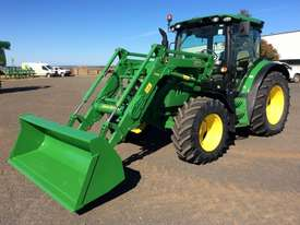 John Deere 6105R FWA/4WD Tractor - picture0' - Click to enlarge