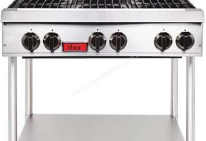 Thor GE757-P - Open Gas Hob 6 Burner LPG