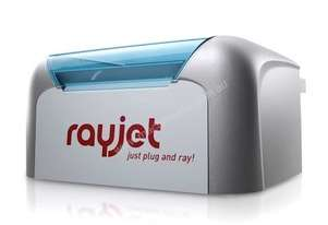 Trotec's Rayjet engraving and cutting machine