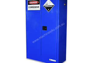 250 Litre Indoor Chemical/Corrosive Substances Cabinet. Australian made to meet Australian Standards