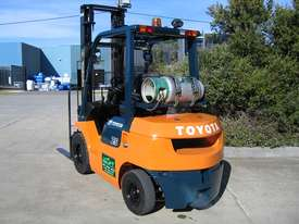 TOYOTA 2.5t LPG Forklift with LOW HOURS - picture8' - Click to enlarge