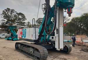 Casagrande C30 - H10 Close to Wall Piling Rig