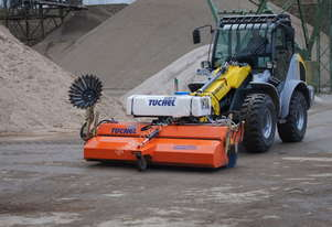 Tuchel Profi 660 Road Sweeper for Skid Steers and Mini loaders