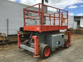 Rough Terrain Scissor lift 1600 hours Including Auto Levelling. A - picture2' - Click to enlarge