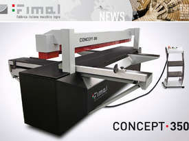 FIMAL Concept 350 - Hybrid Panel Sizing Made in Italy - picture4' - Click to enlarge
