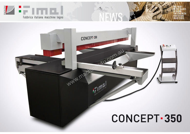 FIMAL Concept 350 - Hybrid Panel Sizing Made in Italy