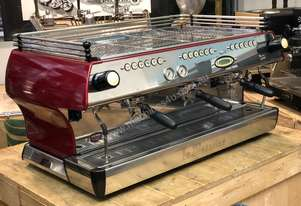 LA MARZOCCO FB80 3 GROUP RED ESPRESSO COFFEE MACHINE