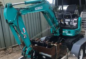 Kobelco SK17SR-3 and trailer for sale