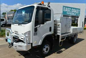 2010 ISUZU NPS 300 4x4 Service Vehicle 4x4