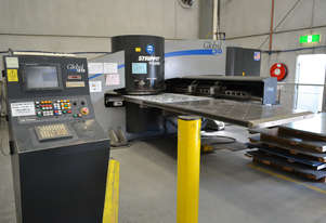 Strippit LVD Global 30 Turret Punch Press. Excellent condition with heaps of tooling.