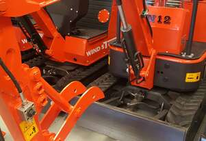 XN12 RHINOCEROS 2020 MINI EXCAVATOR & 10 ATTACHMENTS