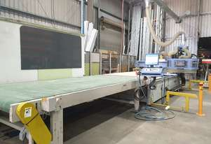 Anderson Selexx 3719 CNC Nesting Machine with unload conveyor