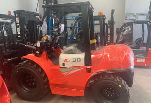 Ex-Demo 3.0ton All Terrain Forklift