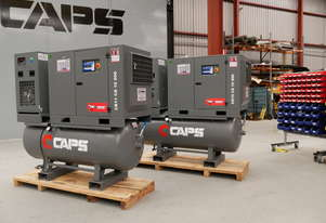 CAPS 2nd Generation CR15 CS 10 500 69cfm 10bar 15kW Rotary Screw Air Compressor