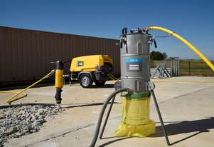 New Pneumatic Dust Collector  - Rock Drill and Jack Hammer accessories.