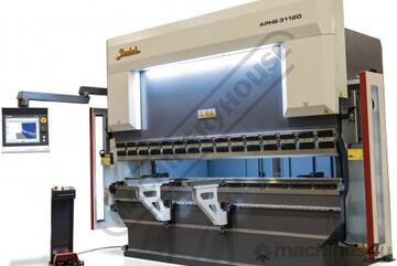APHS-31120 Hydraulic CNC Pressbrake 120T x 3100mm, 5 Axis, Delem DA69T Touch Screen Control Includes