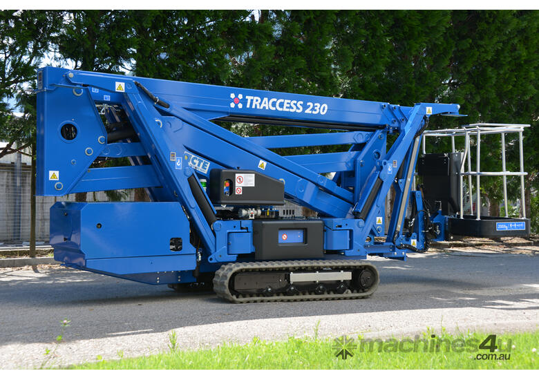 CTE TRACCESS 230 - 23m Spider Lift. EOFY SALE EXTENDED From $429 per week