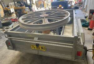 Brand New Redmond Gary 2kn/5kn Trailer Mounted Cable Hauling Capstan Winch