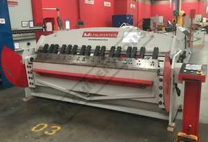 PB-860A Hydraulic NC Panbrake - Ezy Touch Screen Control 2500 x 6mm Mild Steel Bending Capacity