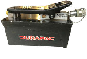 Durapac Air Driven Hydraulic Pump DPA-15