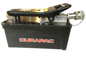 Durapac Air Driven Hydraulic Pump DPA-15 - picture0' - Click to enlarge