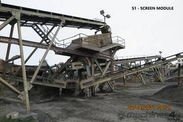 Complete Crushing Plant - Plant is currently operating and can be viewed prior to dismantling