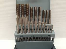 21 Piece HSS Hand Tapping Set - M3 -M12 - picture3' - Click to enlarge