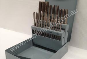 21 Piece HSS Hand Tapping Set - M3 -M12