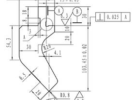 Press Brake Tooling Deep Scollop - 835mm Long - picture1' - Click to enlarge