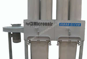 MICRONAIR EC8S pleated filters and auto cleaning