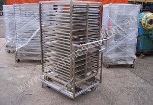 Stainless Steel Bakery Trolleys