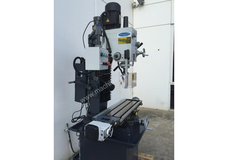 BEST FEATURED MILL DRILL ON MARKET - Z AXIS FEED